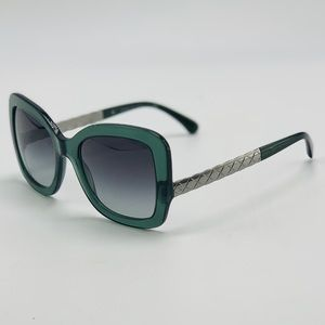 New CHANEL Green Sunglasses 5359